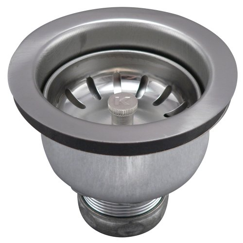 Keeney 1434SS Deep Cup Sink Strainer with Power Ball Basket, Stainless Steel by Keeney Manufacturing