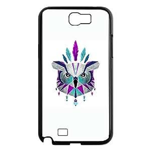Samsung Galaxy N2 7100 Cell Phone Case Black owl king Ggtqc