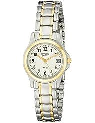 Citizen Womens Quartz Watch with Date, EU1974-57A