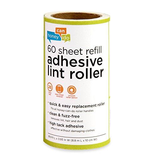 Honey Can Do LNT 01589 60 Sheet Roller Refill