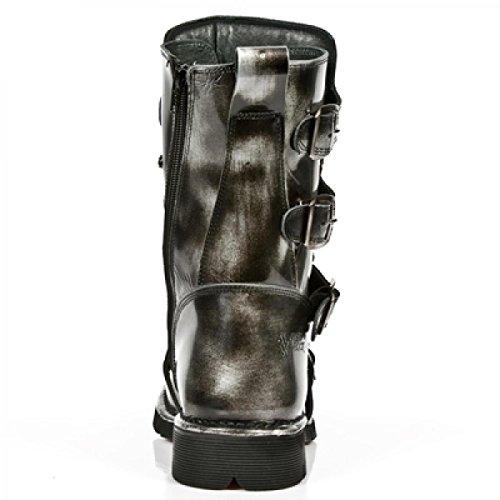 New Rock Støvler M.1473-s5 Gotisk Hardrock Punk Unisex Stiefel Stål Farvet 4pcYrR