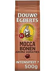 Douwe Egberts Koffiebonen Aroma Variaties Mocca (2 kg, Intensiteit 07/09, Mocca Koffie), 4 x 500 g