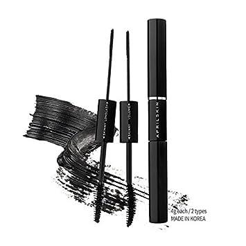 April Skin Magic Cara / Dual type mascara / Long lash and Skinny / Volume and