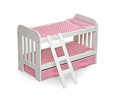 Badger Basket Doll Bunk Bed with Ladder | Computers And Accessories