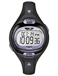 Timex Women's T5K187GP Ironman Pulse Black Dial Wrist Watch