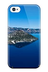 Waterdrop Snap-on Crater Lake Oregon Case For Iphone 4/4s