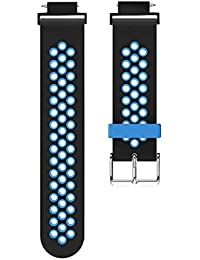 Huami Amazfit Verge Replacement Sports Silicone Watch Band Wrist Strap 2019 (Blue)
