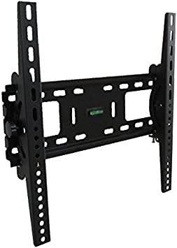 Impact Mounts Lcd Led Plasma Flat Tilt Tv Wall Mount Bracket Solid Piece Wall Plate And Verticals Lockable With A Padlock For Extra Security Small 19 32 Tvs Home Audio Theater