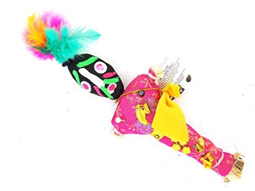 Voodoo Doll Hot Pink SH Good Luck Power Money Health Prosper Revenge Spells Magic New Orleans (Poppet Doll)