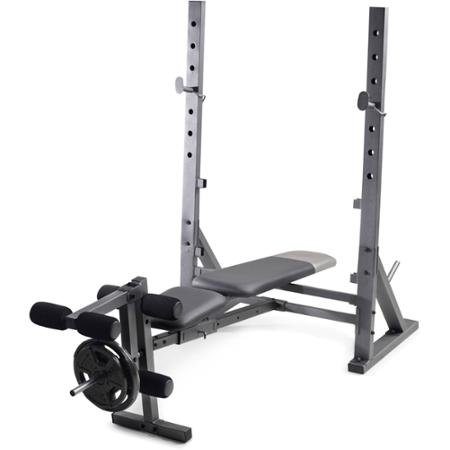 Gold's Gym Xr 10.1 Olympic Weight Bench Incline, Decline and Flat Positions