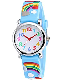 Cute Toddler Children Kids Watches Ages 3-8 Analog Time...