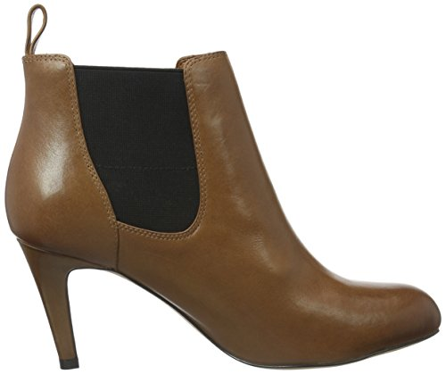 Clarks Carlita Quinn, Botines para Mujer Marrón (Tan Leather)