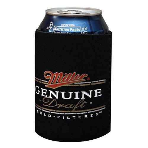- MILLER GENUINE DRAFT MGD Beer Can Kaddy Coolie Huggie Cooler