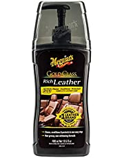 Meguiar G17914 Gold Class Rich Leather Cleaner and Conditioner, 399ml