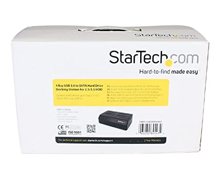 StarTech.com 2-fach USB 3.0 Festplatten Dockingstation mit UASP f/ür 2,5//3,5Zoll SSD // HDD - Serial-ATA USB Dual Bay Dockingstation