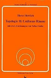 Topologie - II: Uniforme Räume