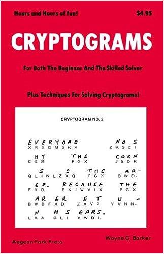 Book Cryptograms