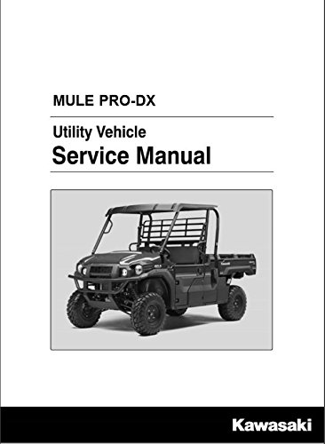 Amazon.com: Kawasaki 2016-2018 Mule Pro-Dx Mule Pro-Dx Eps Kaf100 Service Manual 99924-1506-03 New Oem: Automotive
