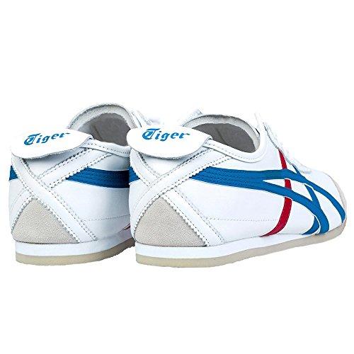 Asics Mexico 66 Sneakers, Scarpe da Ginnastica Basse Unisex-Adulto Blanc