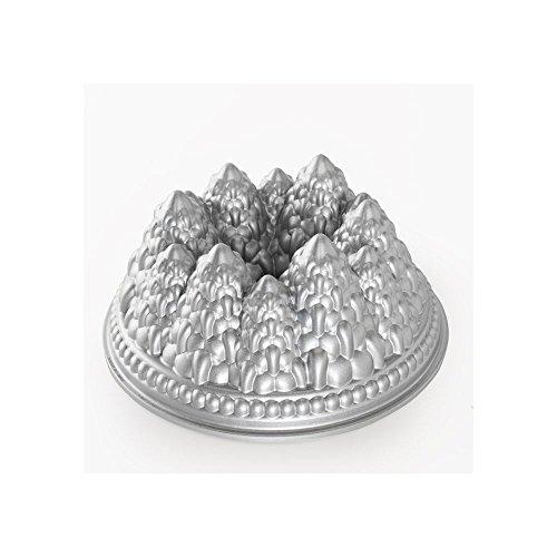Nordic Ware - Food Service 89737 Aluminum Pine Forest Bundt Pan-3 / CS