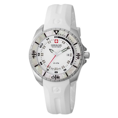 Swiss Military Hanowa Women s 06-6195-1-04-001 Sealander White Dial Watch