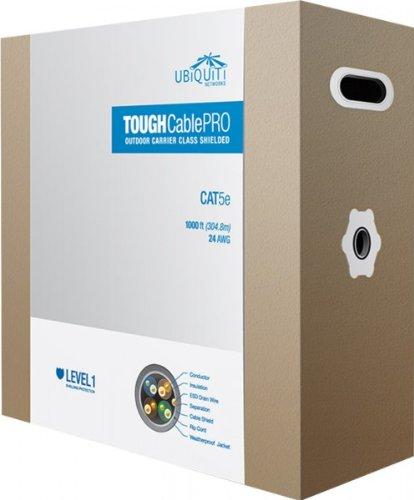 305 m Box tCL1 Blindage Ubiquiti tOUGHCABLE Pro dext/érieur c/âble blind/é
