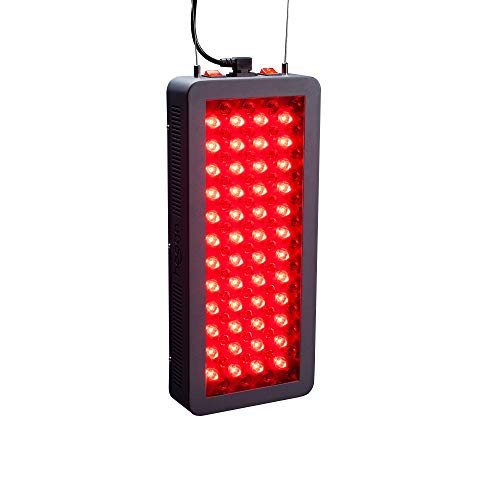 Red Light Therapy by Hooga, 660nm 850nm, Near Infrared LED Light Therapy, 100 LEDs. High Power, Low EMF Output. for Energy, Pain Relief, Skin Health, Beauty, Anti Aging and Performance. HG500.