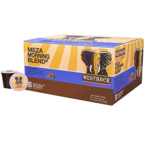 Westrock Coffee Meza Morning Blend Medium Roast Single Serve Gourmet Coffee 80 Count cups