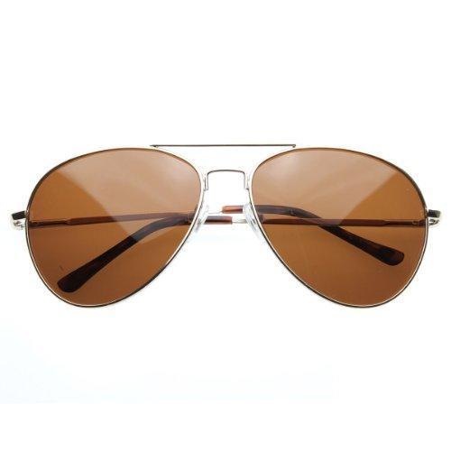 zeroUV - Polarized Classic Metal Aviator Sunglasses - Aviator Classic