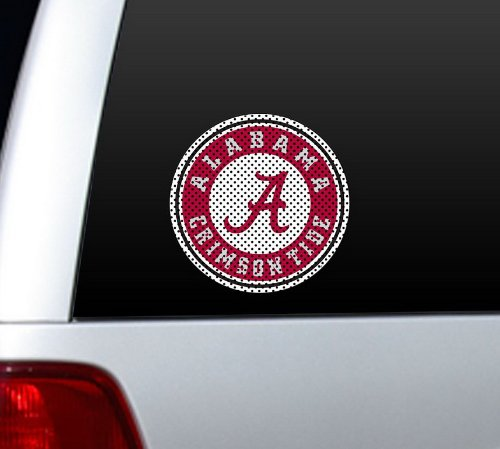 Alabama Crimson Tide Antenna - NCAA Alabama Crimson Tide Large Window Film, 12