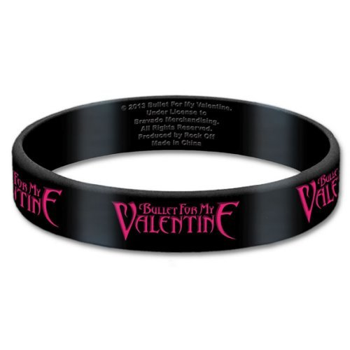 Bullet for My Valentine Logo Wristband