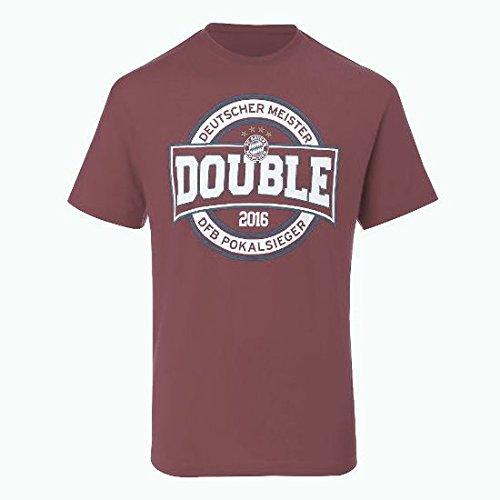 T-Shirt Double 2016 FC Bayern MÜNCHEN Munich Tshirt FCB Tshirt FCB