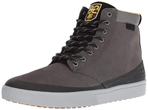 Etnies Men's Jameson HTW X 32 Skate Shoe, Grey/Black/Yellow, 9 Medium US (Etnies Jameson Mt)