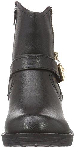 HIS 28300, Zapatillas de Estar por Casa para Mujer Negro - negro