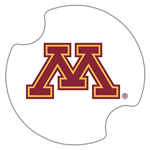 Thirstystone University of Minnesota Car Cup Holder Coaster, 2-Pack