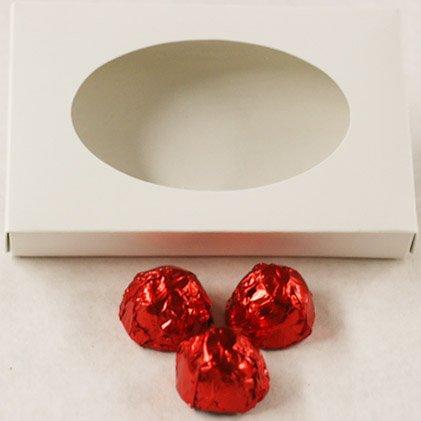 Scott's Cakes Milk Chocolate Covered Rum Cherries in a 1 Pound White Gourmet (Cherry Rum)