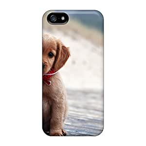 Fashion Tpu Case For Iphone 5/5s- Animals Dogs Cute Puppy Defender Case Cover