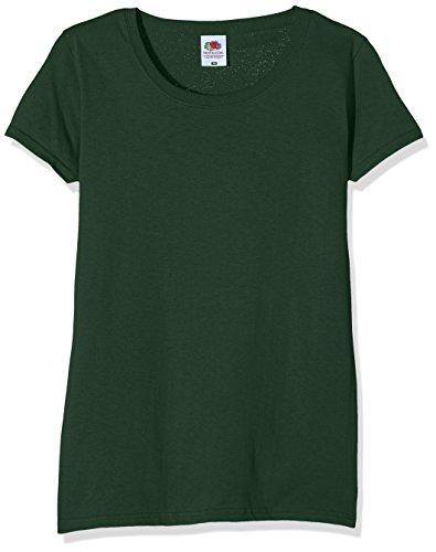Para Camiseta verde Of The Ss129m Fruit Loom bottiglia Mujer Verde UPX4qWw