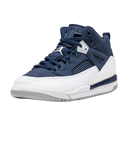 Nike JORDAN SPIZIKE BP Boys fashion-sneakers 317700-406_11C - MIDNIGHT NAVY/METALLIC SILVER-WHITE (Shoes Little Kids Jordan)