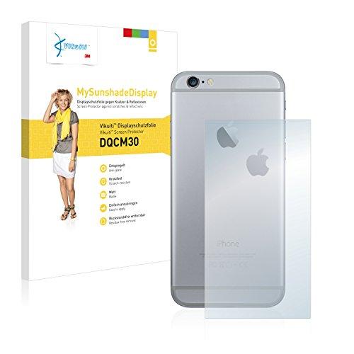 Vikuiti Pellicola Protettiva Schermo DQCM30 da 3M per Apple iPhone 6S Plus Posteriore (superficie centrale + LogoCut)