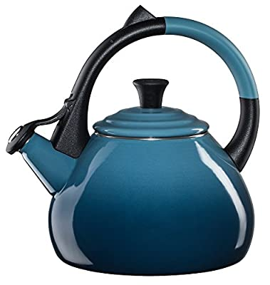 Le Creuset of America Le Creuset Enameled Steel 1.6 Quart Oolong Tea Kettle