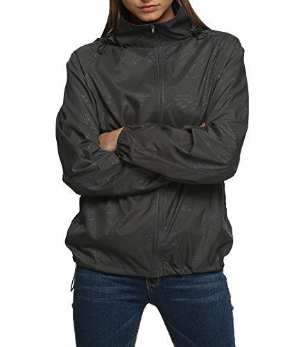 Zeagoo Damen Softhelljacke Windjacke Outdoor Funktionsjacke Lightweight Jacket Atmungsaktiv
