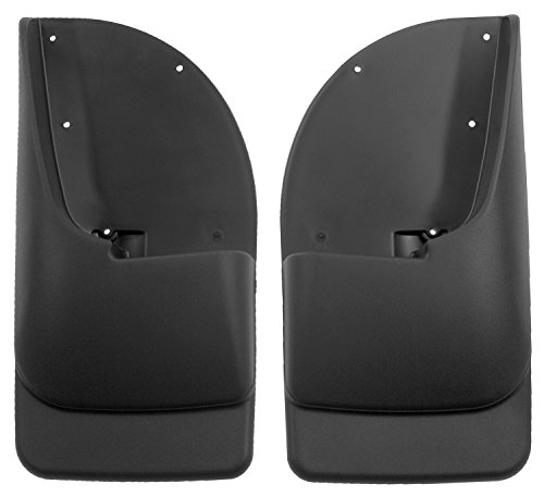 Husky Liners Fits 1999-10 Ford F-250/F-350 - without OEM Fender Flares - SINGE REAR WHEELS Custom Rear Mud Guards (2006 Ford F250 Super Duty For Sale)