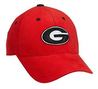 georgia bulldog hats amazon com georgia bulldogs child one fit hat red 4168