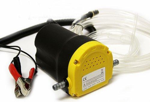 8milelake, pompa di travaso e aspirazione per carburante diesel, a 12 V, per auto, moto, veicoli, codice prodotto: UKFBA freebird trading