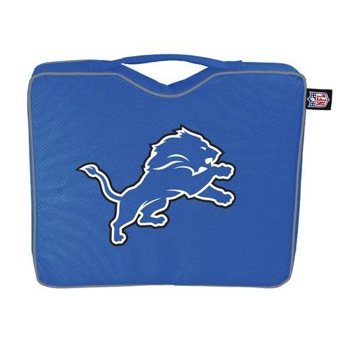 - NFL Lightweight Stadium Bleacher Seat Cushion with Carrying Strap, Detroit Lions