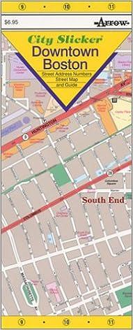 City Slicker Downtown Boston: Inc. Arrow Map ...