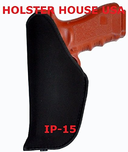 IWB Concealed Gun Holster Hi-Point 45 ACP 40 SW 9MM & 380, Smith+Wesson SD9, SD40, M&P, M&P Compact M&P 22 Sigma 5943TSW 5944TSW, 5946TSW 5967TSW 1066 1076 1086 4566 4567, 4576, 4586 SW99 IP-15