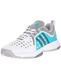 adidas Women's Barricade Classic Bounce Tennis Shoes