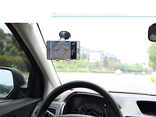Car Mount, I Paimy Universal Smartphone Windshield Dashboard Car Mount Holder for iPhone6,5s,5, HTC One, Samsung Galaxy S6, S5, S4, S3
